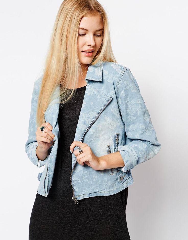 veste blazer jean femme les vestes la mode sont populaires partout dans le monde. Black Bedroom Furniture Sets. Home Design Ideas