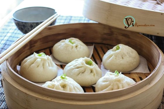 China: Chinese Steamed Meat Buns (baozi) 包子 // also eaten outside breakfast :)