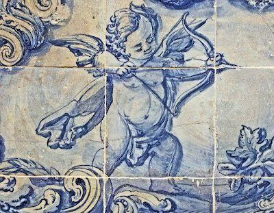 Azulejos antigos no Rio de Janeiro: Glória I - Azulejos do segundo quarto do século XVIII - Igreja da Glória