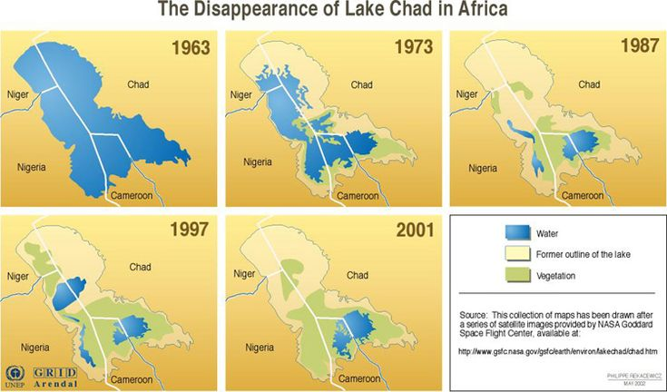 chad africa pictures | Lake Chad is drying up.