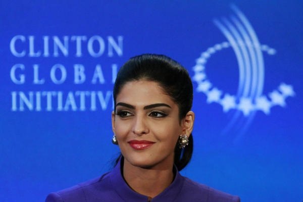 """""""Saudi women have been quiet for a long, long time, and it's about time we spoke up."""" Saudi princess founds Opt4Unity to tackle problems such as cultural divides, agricultural development in Africa and youth unemployment in the Middle East. Will give at least seventy million dollars a year in 70 countries."""