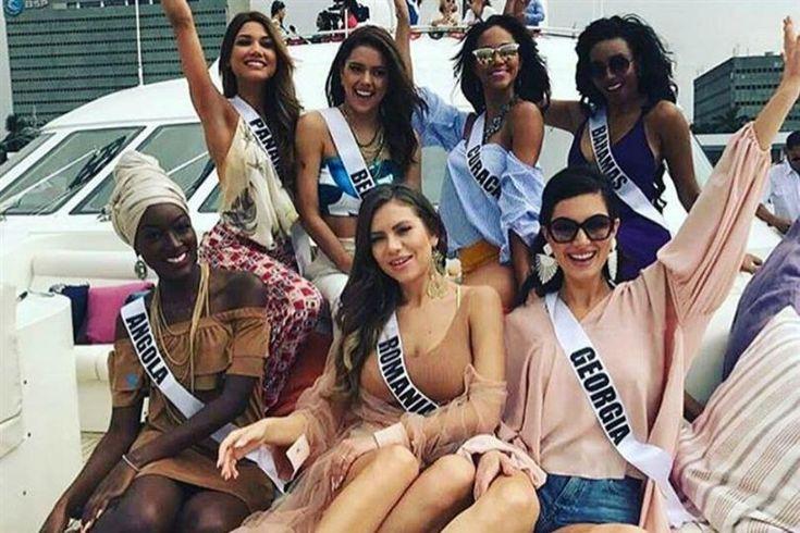 Miss Universe 2016 contestants visit Davao City