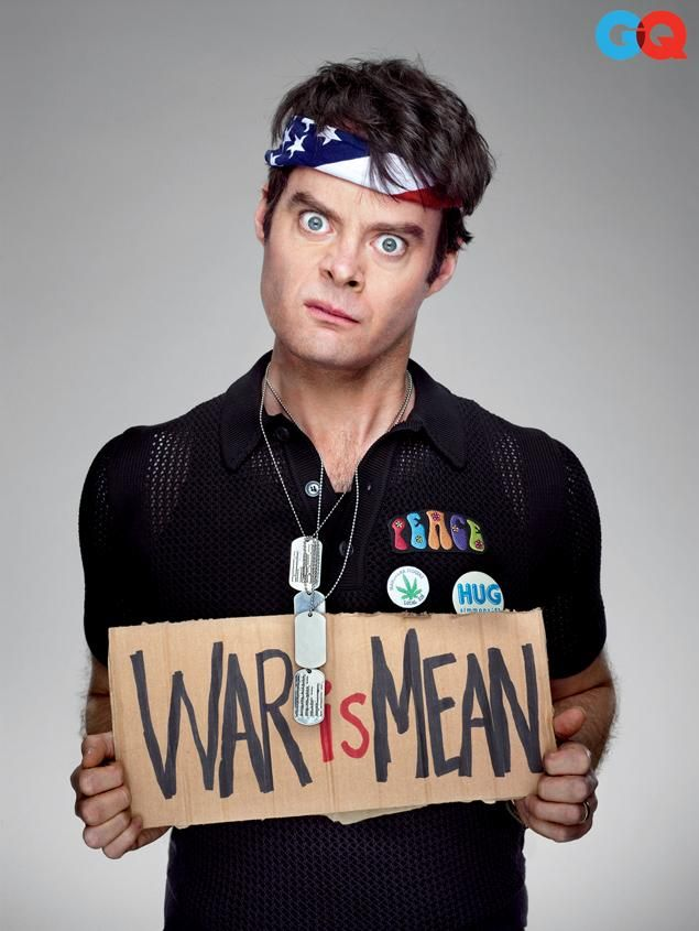 Bill Hader. One of my favorite SNL cast members ever!