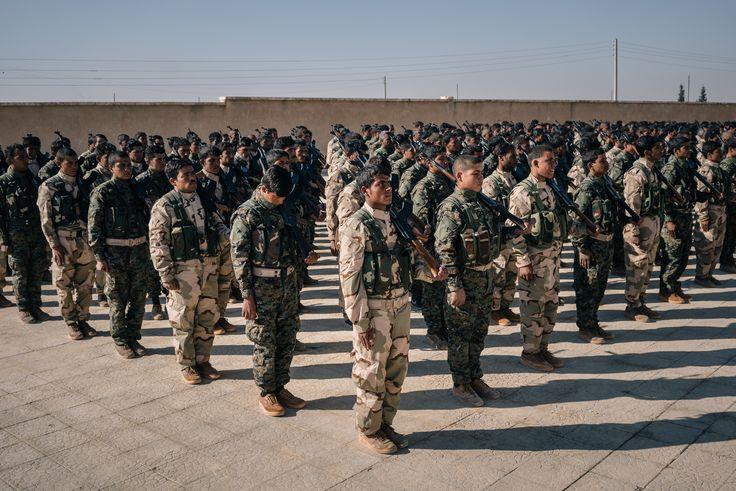 U.S. military aid is fueling big ambitions for Syria's leftist Kurdish militia
