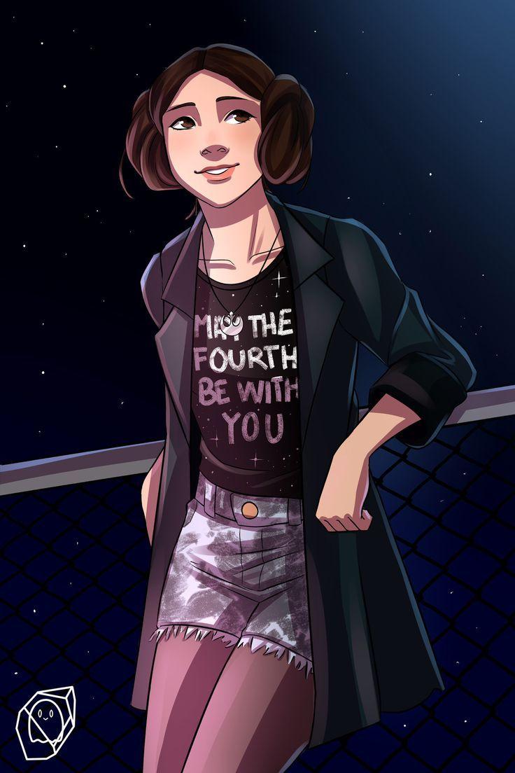 Princess Leia Organa Star Wars Starwars Starwarsart
