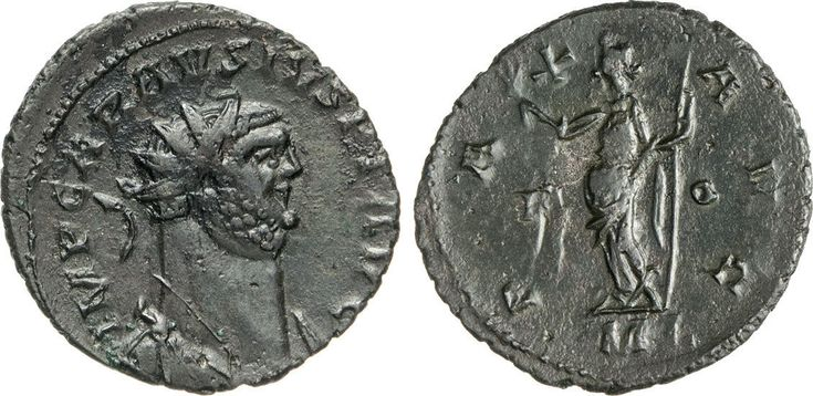NumisBids: Numismatica Varesi s.a.s. Auction 65, Lot 271 : CARAUSIO (287-293) Antoniniano, Londinium. D/ Busto radiato e...