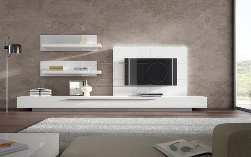 Mueble comedor TV moderno lacado GINZA : 05S A . Brito