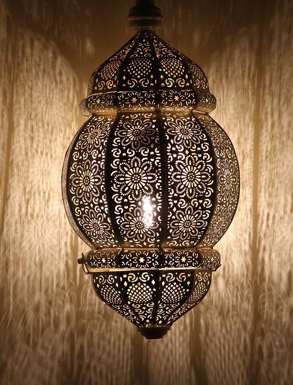 Rani Moroccan Lantern #boho #bohemian #lighting #lantern #authentic #maroco #afflink