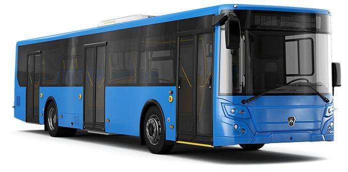 ♥ ЛиАЗ 5292.22-77 Низкопольный автобус большого класса для городских перевозок | ЯМЗ-53633 - 6 - продольное  КПП: ZF ♥