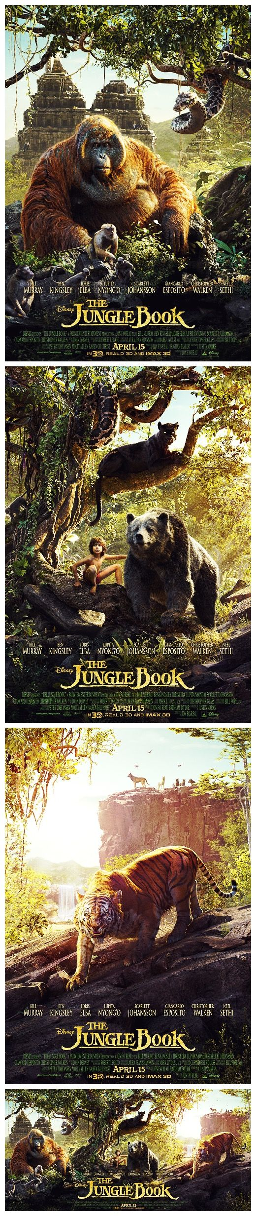 Can anybody give me a summary of the following chapters from The Jungle Book?
