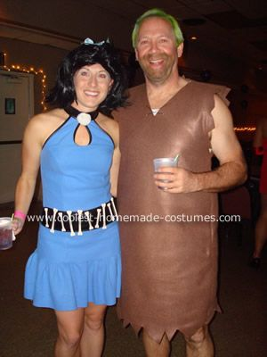 coolest flintstones group costume - Halloween Flintstones