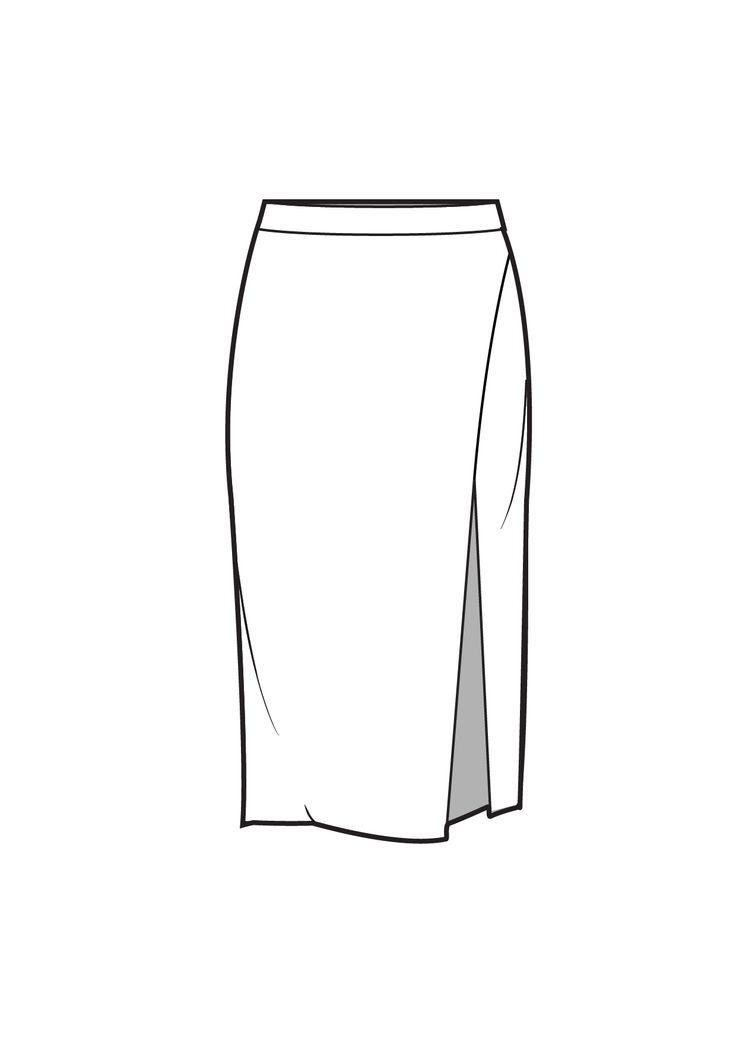 последнее модели юбок рисунок обшивку крыши задней