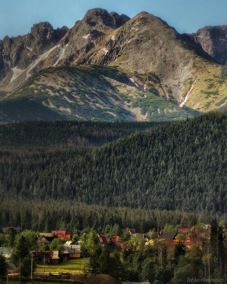 Podhale region, Poland. By Jacek Mrugacz. #tatry #tatramountains #poland #podhale #highlands #mountaineering #hiking