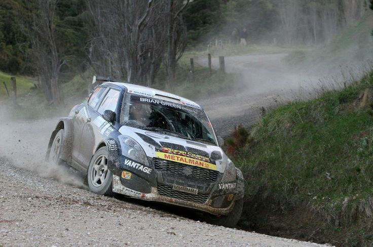 Emma Gilmour - Suzuki Swift Sport Rally Car - Rally Wairarapa 2014