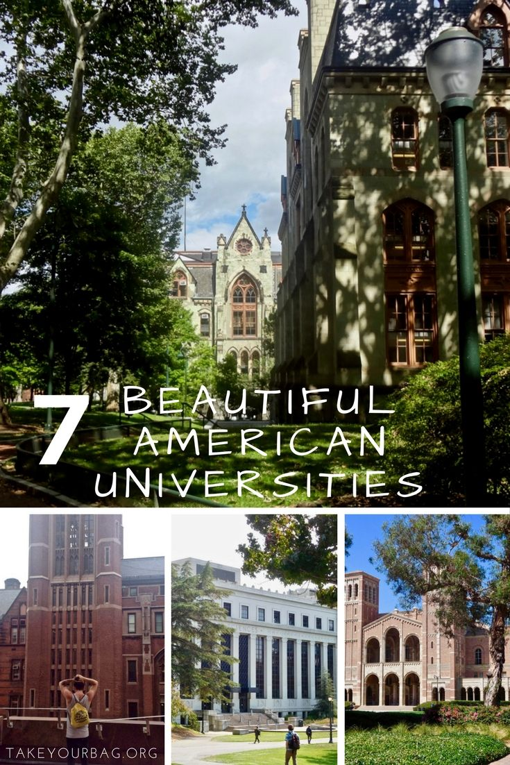 7 beautiful American universities   Gorgeous College Campuses  Harvard  Columbia   Georgetown   Upenn   UCLA   Berkeley   UCSC (4)
