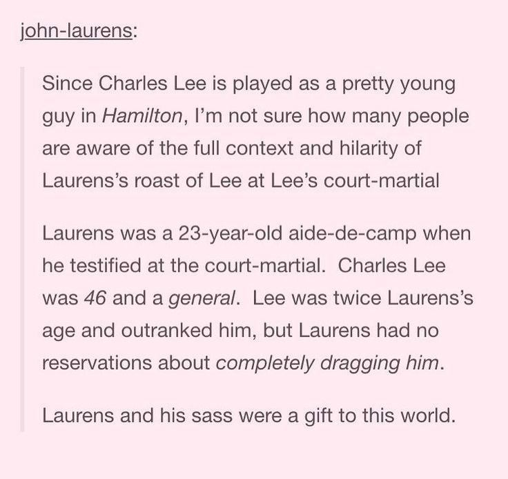 Let's just take a moment to appreciate John Laurens.