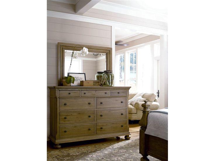 Paula Deen Furniture Outlet | Paula Deen By Universal Bedroom Landscape  Mirror 19204M At Woodstock .