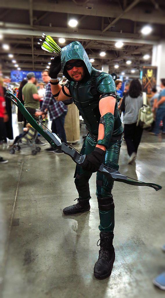 Arrow cosplay Salt Lake Comic Con. @Salt Lake Comic Con | Green Arrow, DC Comics