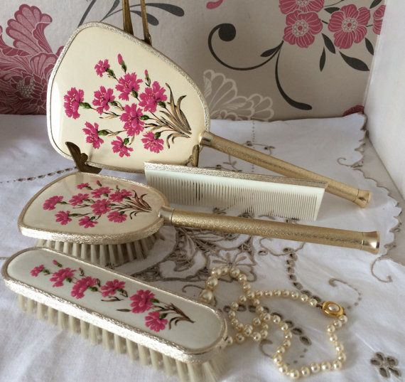 897 Best Mirror Brush Amp Comb Sets Images On Pinterest