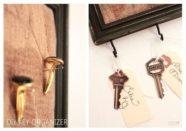 DIY Key Organizer