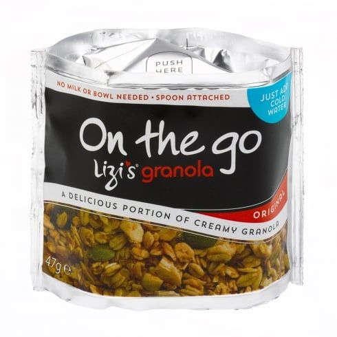 Lizi's Granola On the Go Granola - Original - Box of 10