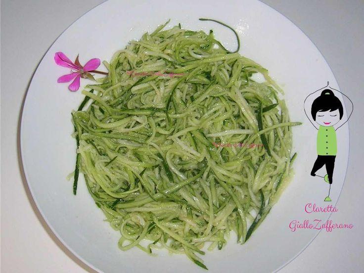 Zucchine al limone, Ricetta zucchine