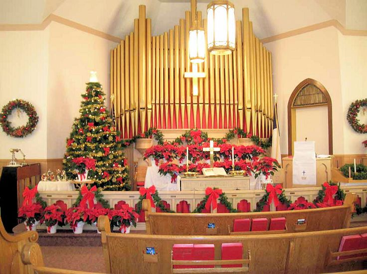 17 best images about church christmas decor on pinterest for Christmas church decoration ideas