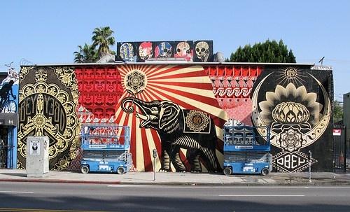 Fairey Shepard-street art