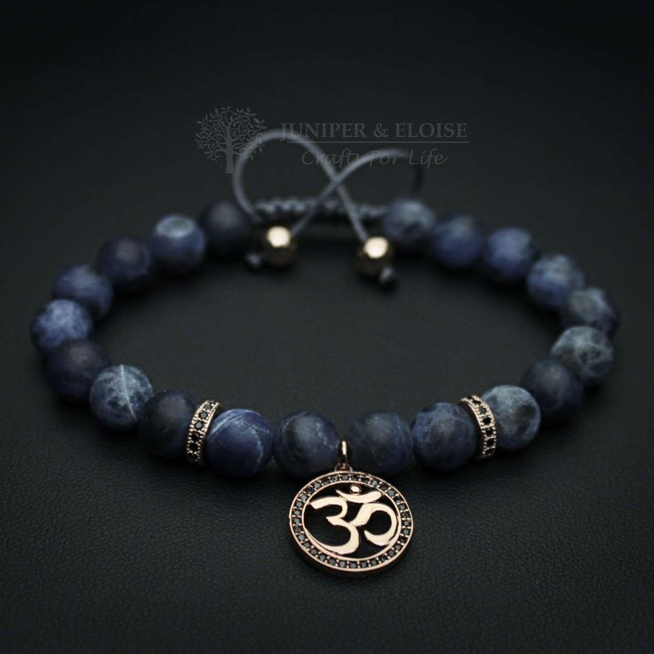 OM Bracelet, Mala Beads, Wrist Mala, Yoga Beads Healing Jewelry, Yoga Zen Jewelry, Om Shanti, Aum jewelry, ブレスレット, Armband, Karkötő, Pulsera by JuniperandEloise on Etsy