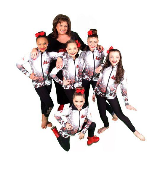 Dance Moms season 4 promotional photoshoot
