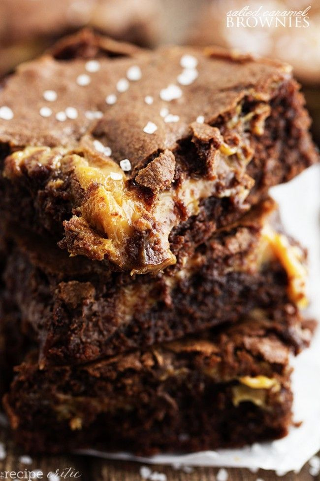 Perfectly fudgy and moist brownies that have an oozing salted caramel center. These will be one of the best brownies that you sink your teeth into! I made these brownies a couple of days ago and still can't get over how amazing they turned out. My boys were home for spring break and needed a …
