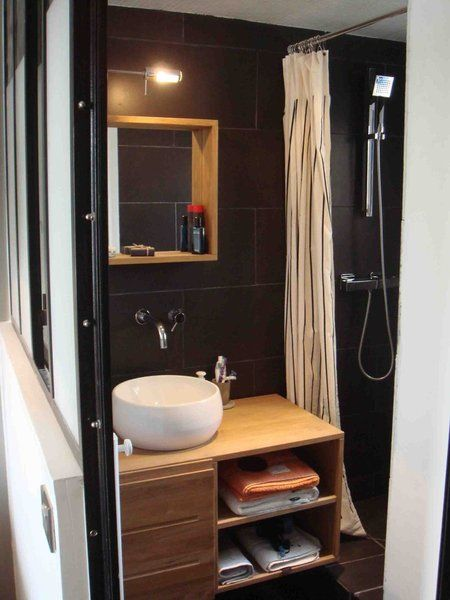 Les 25 meilleures id es de la cat gorie salle de bain teck for Decoration 25 salle de bain