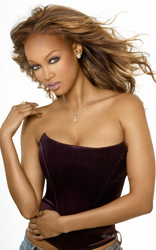 A media powerhouse, Tyra Banks has been a successful model since the age of 16. Along with the cover of the Sports Illustrated Swimsuit Edition, Banks was the first African-American woman to grace the covers of GQ and the Victoria's Secret Catalog.