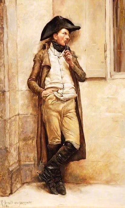 The Athenaeum - Le fumeur (Reginald Ernest Arnold - )