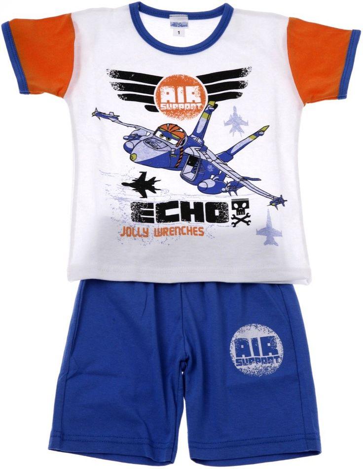 All Stars παιδικό σετ μπλούζα-παντελόνι βερμούδα «Echo» - Παιδικά ρούχα AZshop.gr