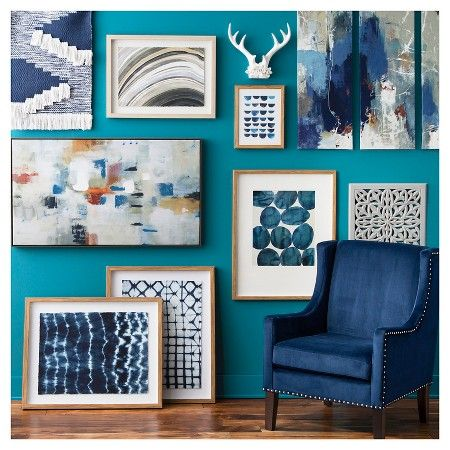 Fall blues wall décor collection target