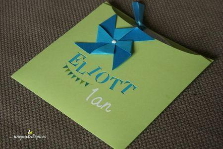 Idée enveloppe carton d'invitation