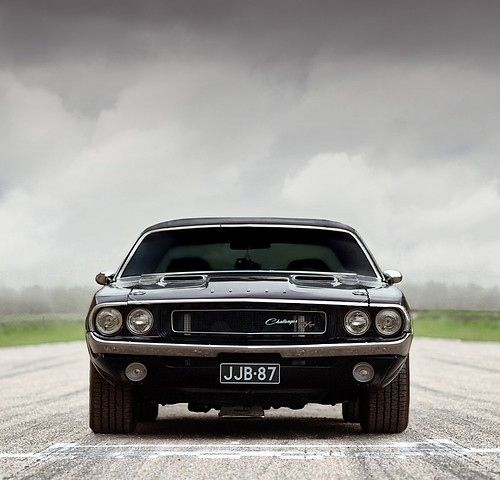 Dodge Challenger......the only thing cooler is a white one from 1970 ;)