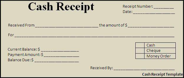Cash Payment Receipt Google Search Free Receipt Template