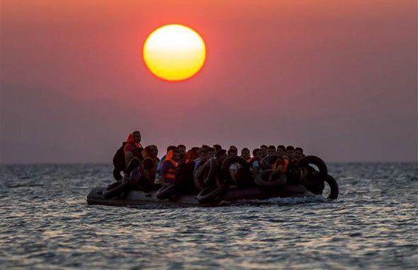 Yunanistan'ın İstanköy adasında yürek burkan göçmen krizi - Hürriyet Dünya