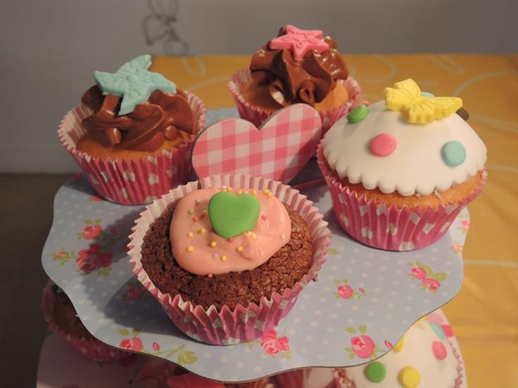 april's cupcakes