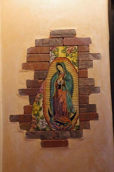 El Blog de Marcelo: Murales de la Virgen de Guadalupe: María más ...