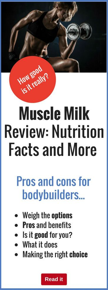 Muscle Milk is endorsed by some of the world's greatest athletes...but how good is it? Find out the pros and cons of using Muscle Milk as part of your bodybuilding nutrition regime.