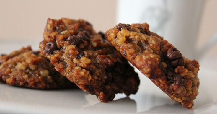 Galletas de Avena con Chips de Chocolate. Sin Gluten, sin huevos, sin lácteos. Blog Recomiendo by Pola & Cleme.