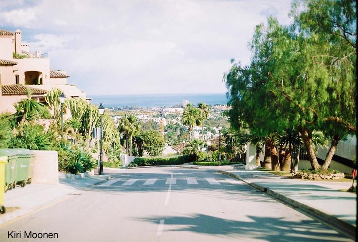 Street View, Spain.  Film Photo by Kiri Moonen