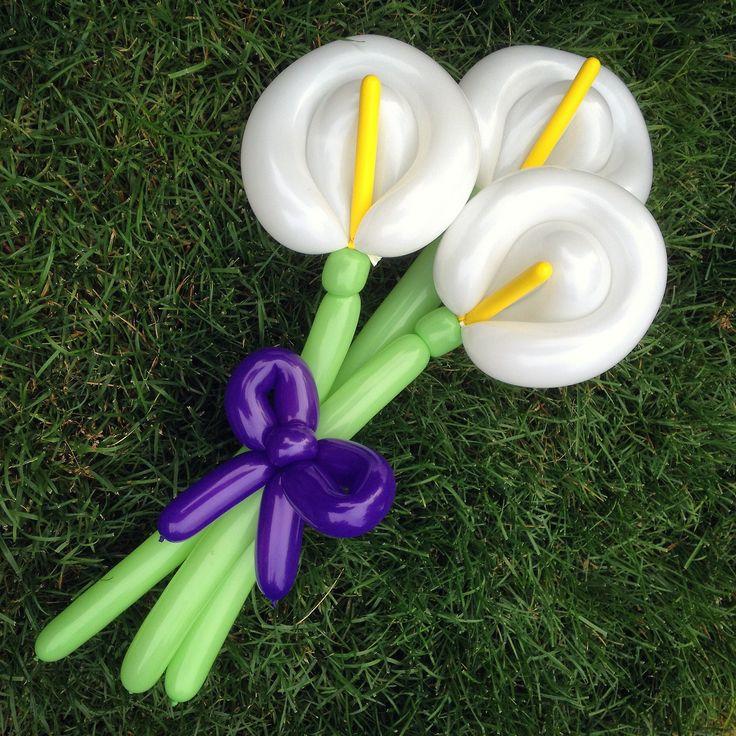 Cala lilly balloon twist