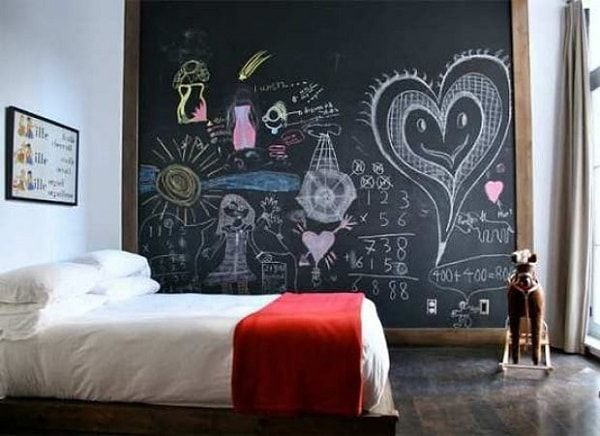 Pizarras decorativas en las paredes - Decoracion - EstiloyDeco