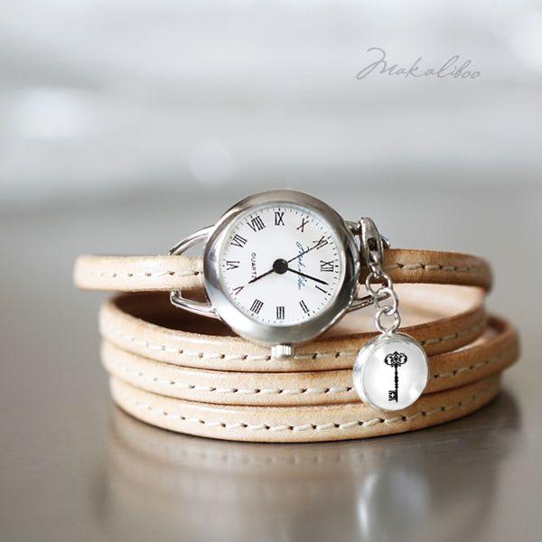 Zegarek - Kluczyk_ Naturalny w Makaliboo na DaWanda.com #niezchinzpasji