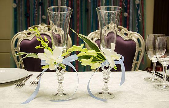 Декорирование свадьбы в отеле КОРСТОН
