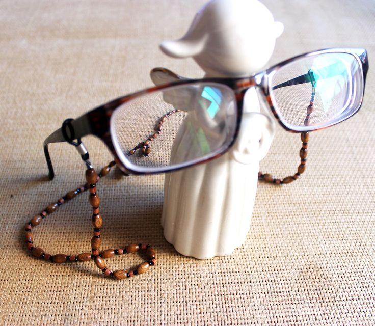 wooden beads glasses chain landyard holder, sunglasses chain, eyewear cord,eyewear retainer, 30pcs/lot free shipping